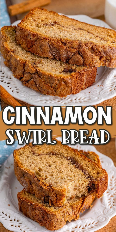 cinnamon swirl bread pinterest