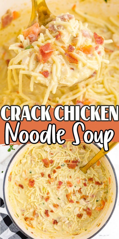 crack chicken noodle soup pinterest