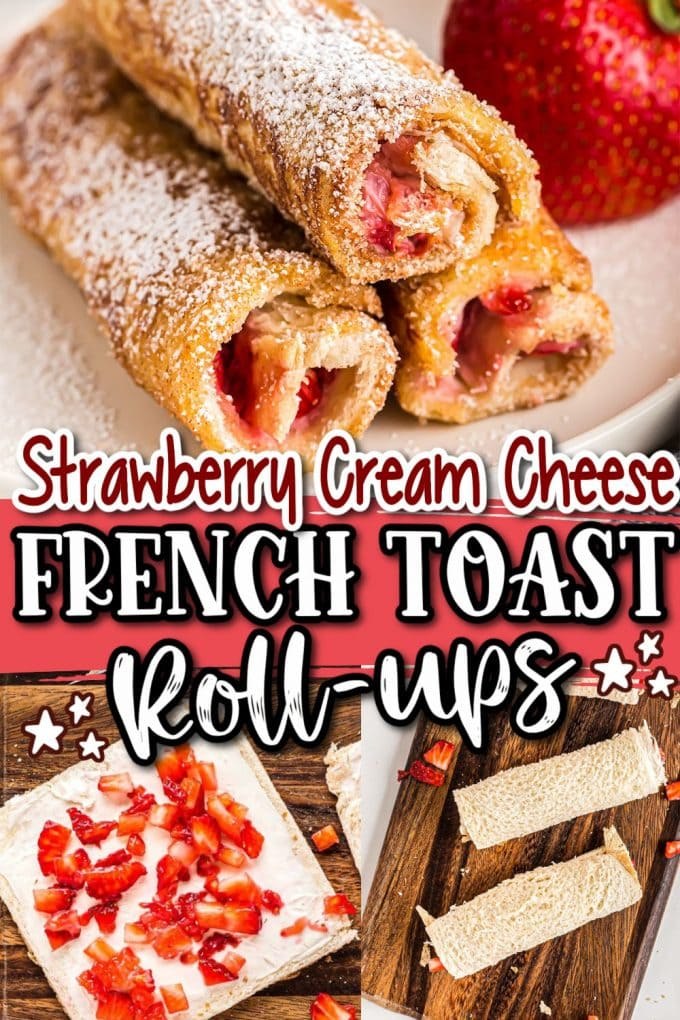 French Toast Roll-Ups pinterest