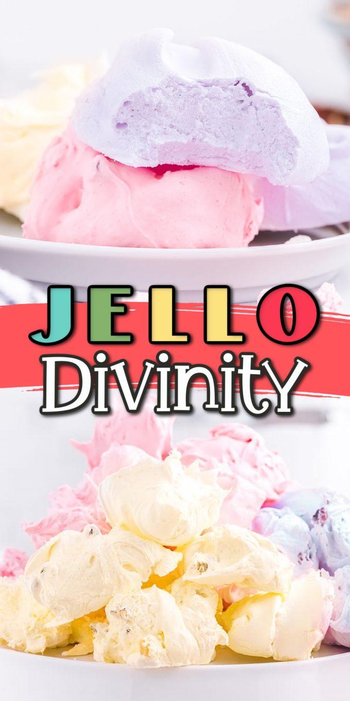 jello divinity candy pinterest