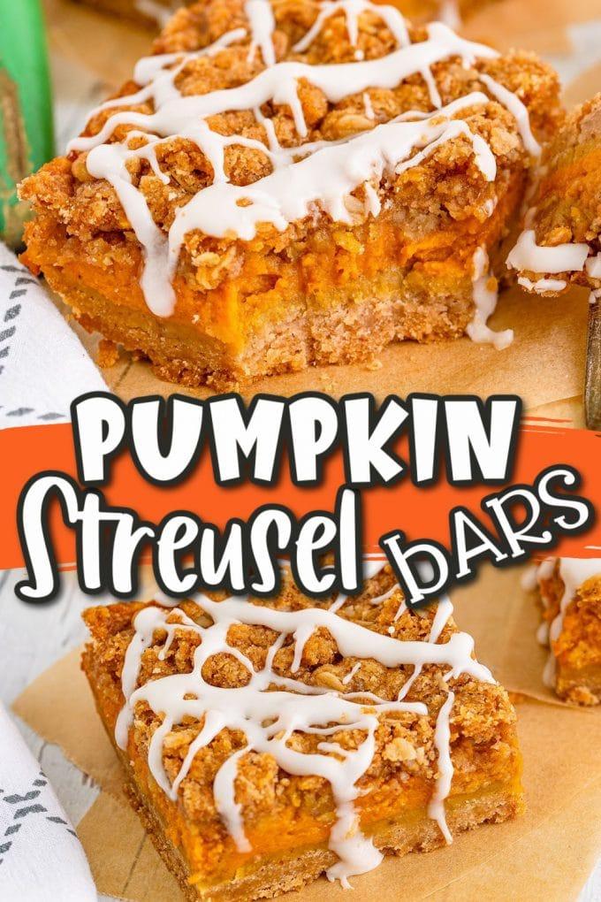 Pumpkin Streusel Bars pinterest