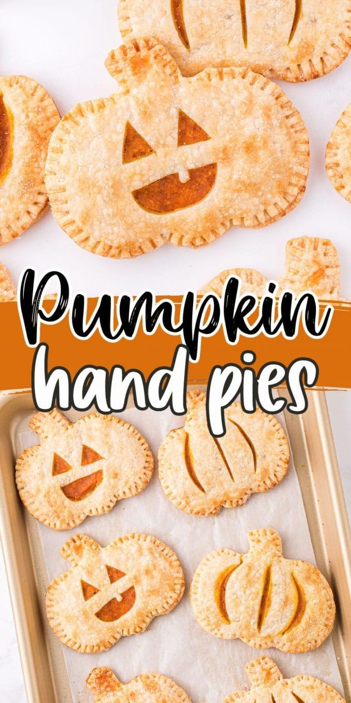 pumpkin hand pies pinterest