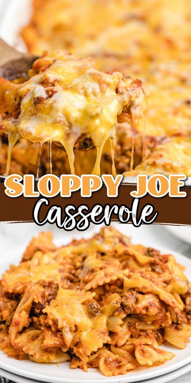 Sloppy Joe Casserole pinterest