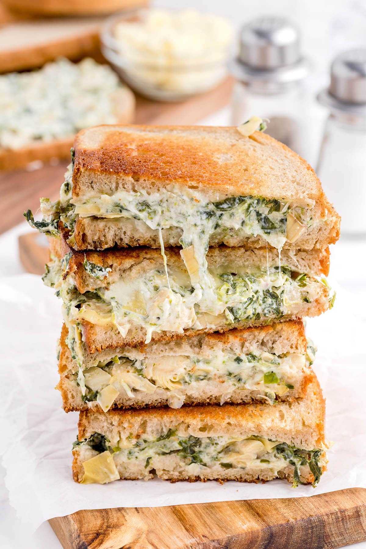 Spinach and Artichoke Grilled Cheese hero image