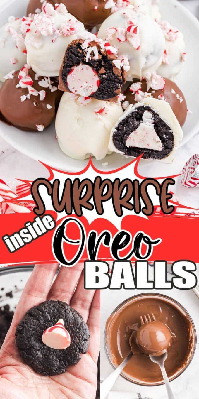 surprise inside oreo balls pinterest